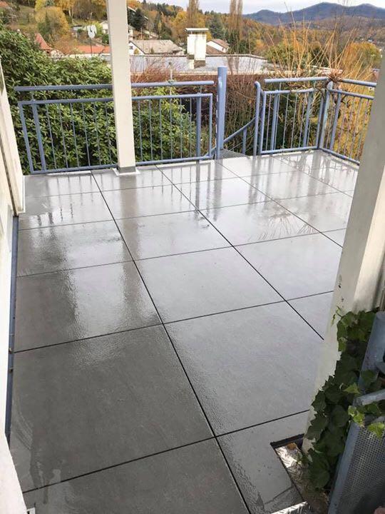 Bodenbeschichtung Terrasse