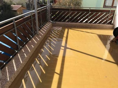 Balkonboden