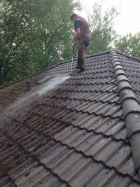 Dach abstrahlen